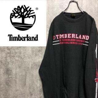 Timberland - 【激レア】ティンバーランド☆USA製サイドプリントロゴプリントロンT 90s
