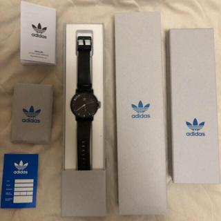 アディダス(adidas)のアディダス 腕時計 黒(腕時計(アナログ))