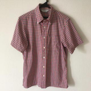 エディフィス(EDIFICE)のエディフィス 半袖シャツ チェックシャツ(シャツ)