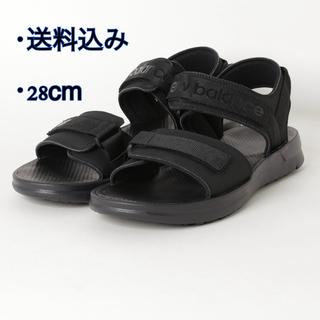 ニューバランス(New Balance)のNew Balance SUA250K1 ブラック(K1)28cm(サンダル)