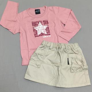 コムサイズム(COMME CA ISM)のコムサイズム Tシャツ スカート 女の子 80 未使用(シャツ/カットソー)