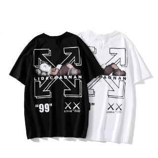 オフホワイト(OFF-WHITE)の2枚セットOFF-WHITEOFF OW WHITEコラボ Tシャツ(Tシャツ/カットソー(半袖/袖なし))