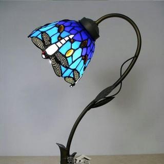 新品 ティファニー、 大型ステンドグラス 卓上ランプ ローズ柄 卓上ランプ(フロアスタンド)