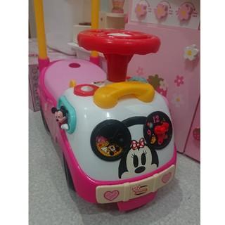 ミニーマウス(ミニーマウス)のミニーちゃん チクタクライド(手押し車/カタカタ)