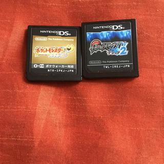 ポケモン(ポケモン)のポケットモンスター ハートゴールド ブラック2 ポケモン ds ソフト(携帯用ゲームソフト)