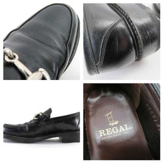REGAL - 【良好!】リーガル レザー ビット ローファー 251/2 ブラック