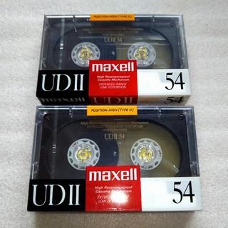 マクセル(maxell)のmaxell カセットテープ 2本 ハイポジション(その他)