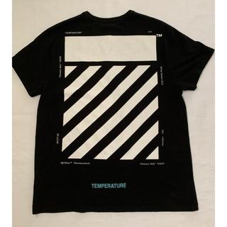 オフホワイト(OFF-WHITE)のoff-white オフホワイトTシャツTEMPERATURE 定価32000円(Tシャツ/カットソー(半袖/袖なし))