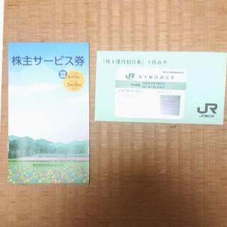 ジェイアール(JR)の株主優待券 JR東日本株主優待割引券(鉄道乗車券)