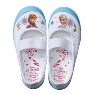 ムーンスター(MOONSTAR )のアナと雪の女王 上履き 上靴(スクールシューズ/上履き)