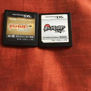 ポケモン(ポケモン)のポケットモンスター ハートゴールド  ホワイト ポケモン ds ソフト(携帯用ゲームソフト)