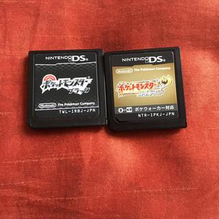 ポケモン(ポケモン)のポケットモンスター ハートゴールド ブラック ポケモン ds ソフト(携帯用ゲームソフト)