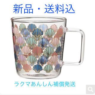 Starbucks Coffee - 【完売品】スターバックス オンラインストア限定グラスマグゴールドシェル355ml