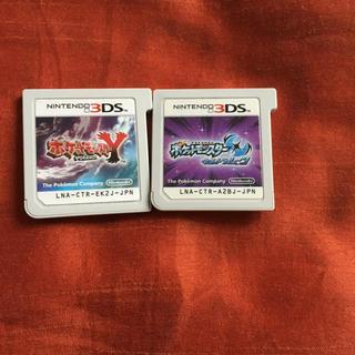 ポケモン(ポケモン)のポケットモンスター ウルトラムーン Y ポケモン 3ds ソフト(携帯用ゲームソフト)