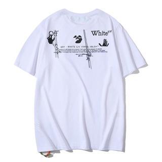 オフホワイト(OFF-WHITE)のOFF WHITE Tシャツ 半袖 メンズ レディース 夏(Tシャツ(半袖/袖なし))
