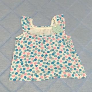 コンビミニ(Combi mini)のキッズトップス 水玉 マリン コンビミニ 90センチ(Tシャツ/カットソー)