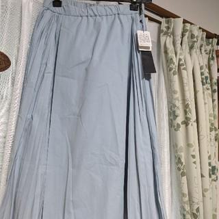 アバハウスドゥヴィネット(Abahouse Devinette)のアバハウス アイスブループリーツスカート(ひざ丈スカート)