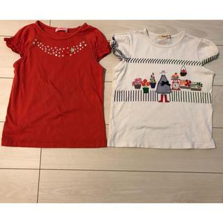 familiar - ファミリア familiar  Tシャツ 2枚セット 130