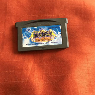ゲームボーイアドバンス(ゲームボーイアドバンス)の星のカービィ  鏡の大迷宮 GBA アドバンス ソフト(携帯用ゲームソフト)