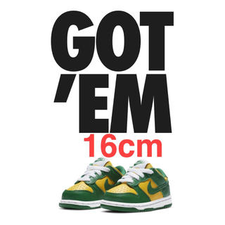 NIKE - NIKE:Dunk Low SP Brazil (TD)ベビー キッズ ダンク