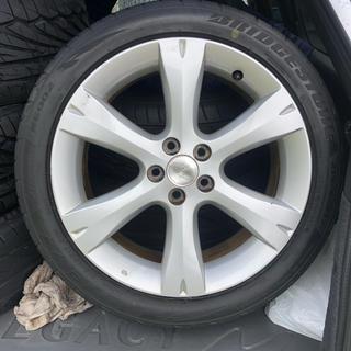 ブリヂストン(BRIDGESTONE)のタイヤ(215/45/17) ホイール(スバル純正17インチ) 4本セット(タイヤ・ホイールセット)