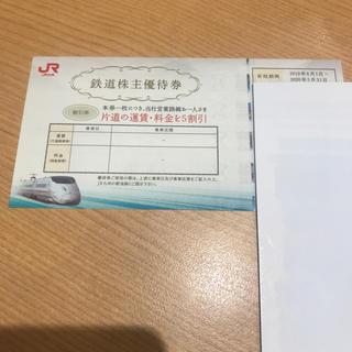 ジェイアール(JR)のJR九州株主優待券 (鉄道乗車券)