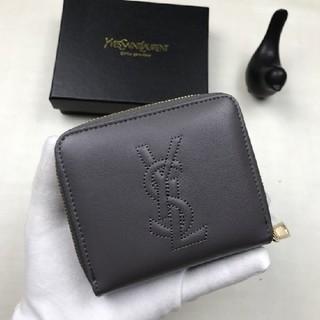 Yves Saint Laurent Beaute - 超人気!YSL イヴサンローラ 折り財布 ブラック 小銭♪入れ