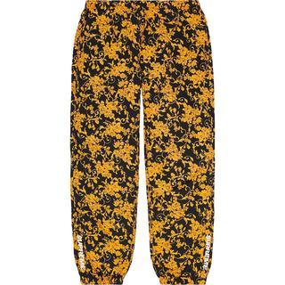 シュプリーム(Supreme)の【S】Supreme Warm Up Pant Black Floral 花柄(その他)