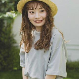 ehka sopo - ehkasopo エヘカソポ まる レース付きTシャツ