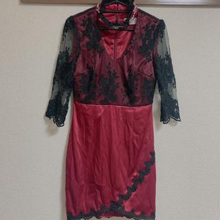 ザラ(ZARA)のDIOH キャバドレス 袖あり タイトドレス(ミニドレス)