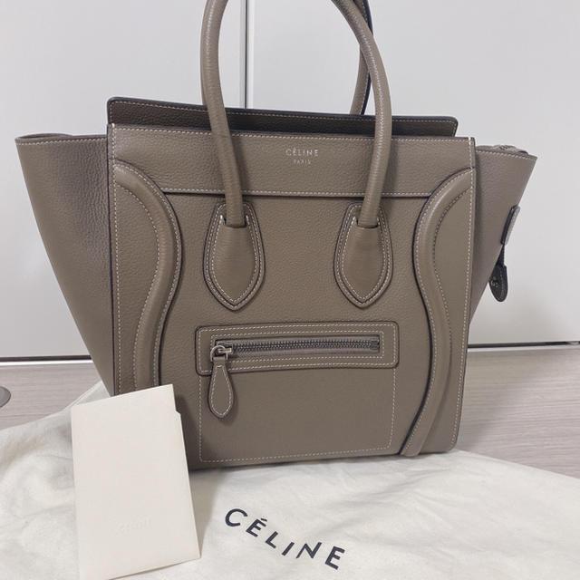 celine(セリーヌ)の値下げ セリーヌ ラゲージマイクロショッパー レディースのバッグ(ハンドバッグ)の商品写真