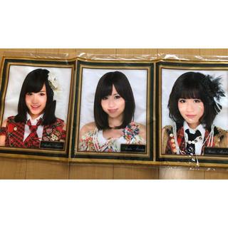 エーケービーフォーティーエイト(AKB48)の前田敦子 AKB48卒業メモリアル劇場壁写タオル(アイドルグッズ)