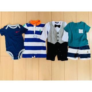 ラルフローレン(Ralph Lauren)の子ども服セット used 1歳前の男の子 (ロンパース)