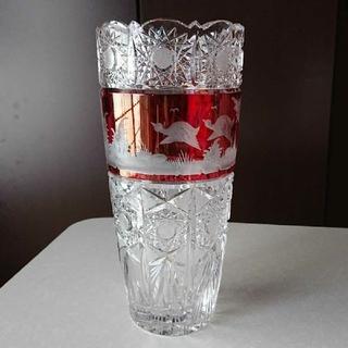 ボヘミア クリスタル(BOHEMIA Cristal)のボヘミア花瓶 (花瓶)