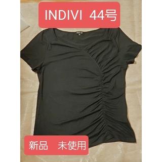 インディヴィ(INDIVI)のINDIVI Tシャツカットソー 44号(Tシャツ(半袖/袖なし))
