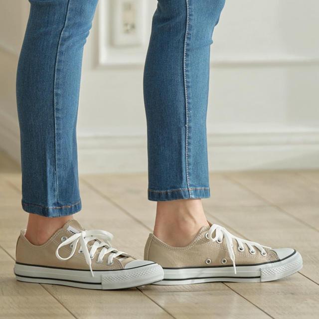 CONVERSE(コンバース)の《新品❣️》converse☆オールスター❣️ローカット❣️ベージュ レディースの靴/シューズ(スニーカー)の商品写真