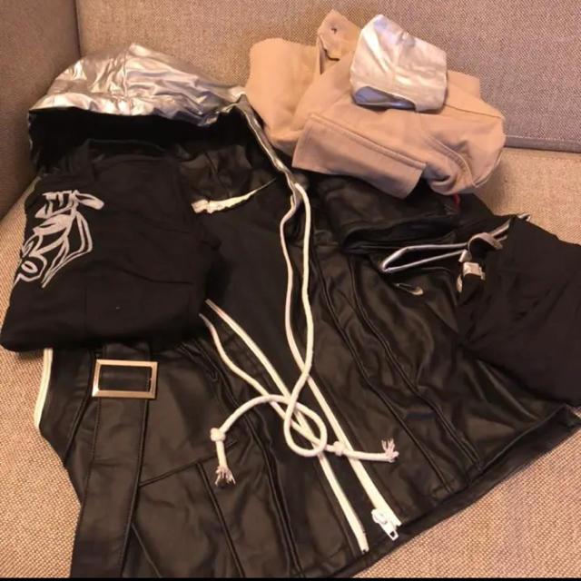 SQUARE ENIX(スクウェアエニックス)のファイナルファンタジー アドベントチルドレン ユフィ  キサラギ コスプレ 衣装 エンタメ/ホビーのコスプレ(衣装一式)の商品写真