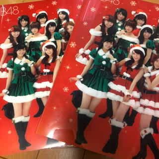 エーケービーフォーティーエイト(AKB48)のAKB48 セブンイレブンクリスマスコラボ ファイル(アイドルグッズ)