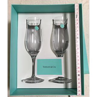 ティファニー(Tiffany & Co.)の未使用 ティファニー ペアグラス ワイングラス(食器)