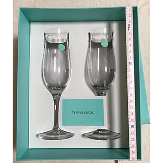 Tiffany & Co. - 未使用 ティファニー ペアグラス ワイングラス