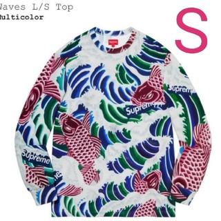 Supreme - Supreme Waves L/S Top Sサイズ シュプリーム 20ss