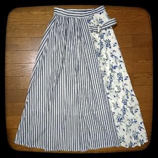 シマムラ(しまむら)の【極美品】しまむら ロングスカート(ロングスカート)