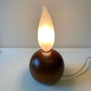 照明 スタンドライト 炎型ライト (テーブルスタンド)