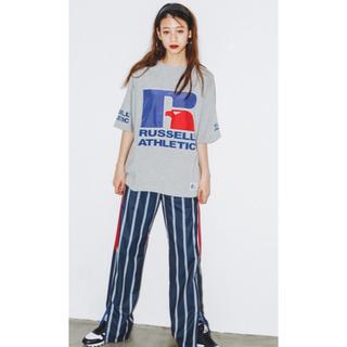 エックスガール(X-girl)の未使用 X-girl RUSSELL ATHLETIC Tシャツ(Tシャツ(半袖/袖なし))
