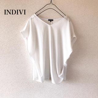 インディヴィ(INDIVI)のINDIVI  ブラウス(シャツ/ブラウス(半袖/袖なし))