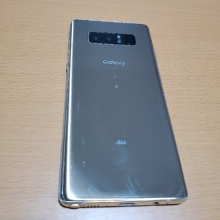 Galaxy - Galaxy note 8 ゴールド SIMフリー