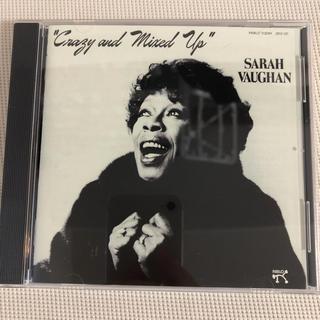 【美品SHM-CD】Sarah Vaughan / Crazy Mixed up(ジャズ)