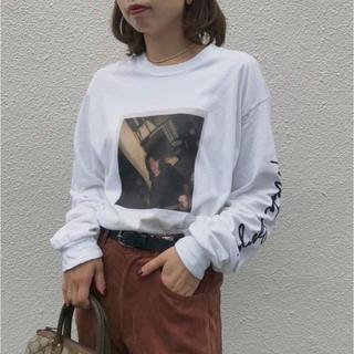 アメリヴィンテージ(Ameri VINTAGE)のにこ様専用★AMERI PHOTO ROBERTA BAYLEY TEE(Tシャツ(長袖/七分))
