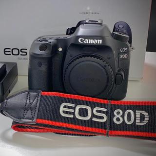 キヤノン(Canon)のCanon EOS 80D(W) ボディ(デジタル一眼)