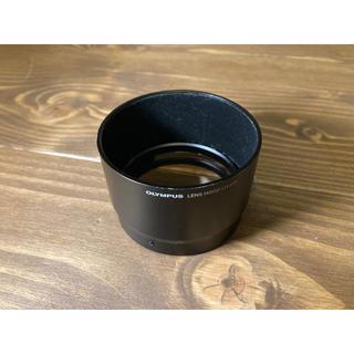オリンパス(OLYMPUS)のLH-61F ブラック 75mm F1.8専用 純正金属フード(レンズ(単焦点))